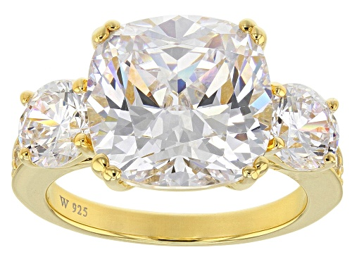 Photo of Pre-Owned Charles Winston For Bella Luce® 14.87ctw Diamond Simulant Eterno™ Yellow Ring - Size 10