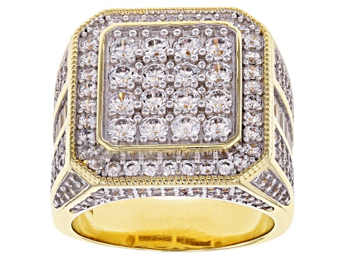 Photo of Pre-Owned Bella Luce ® 5.66ctw White Diamond Simulant Eterno™ Yellow Ring (3.61ctw DEW) - Size 7