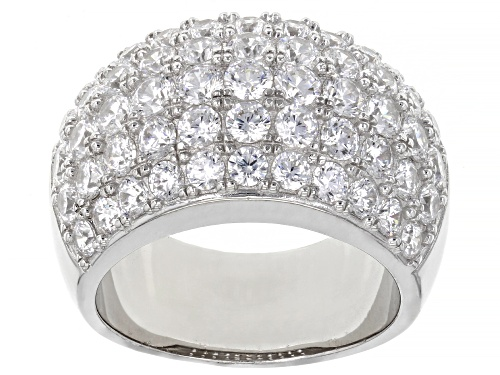 Photo of Pre-Owned Bella Luce ® 5.64ctw Platinum Over Sterling Silver Ring - Size 9