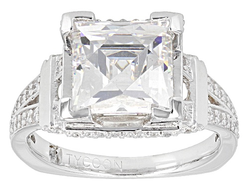 Photo of Pre-Owned Tycoon For Bella Luce ® 7.25ctw Platineve ™ Ring (4.44ctw Dew) - Size 11