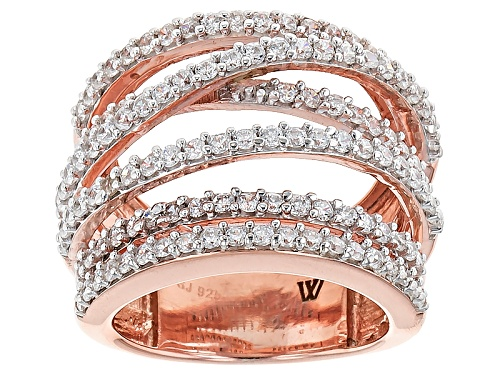 Photo of Pre-Owned Charles Winston For Bella Luce ® 3.48ctw Round Eterno ™ Rose Ring - Size 6