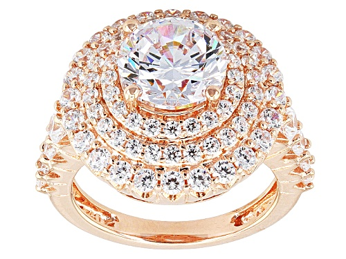 Photo of Pre-Owned Bella Luce ® 8.01ctw Eterno ™ Rose Ring (4.64ctw Dew) - Size 9