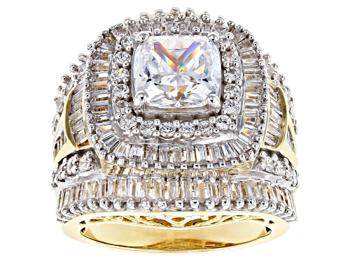Photo of Pre-Owned Bella Luce ® 9.60ctw White Diamond Simulant Eterno ™ Yellow Ring (6.98ctw Dew) - Size 5