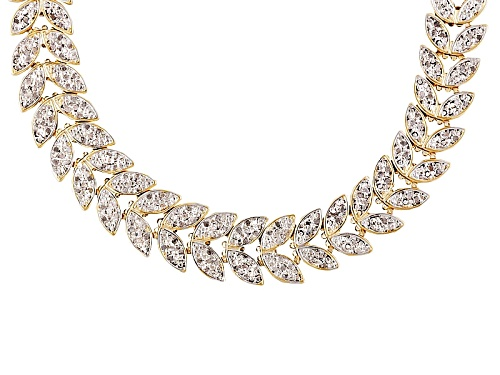 Photo of Pre-Owned Emulous™ 1.00ctw Diamond 18k Yellow Gold Over Brass Necklace - Size 18