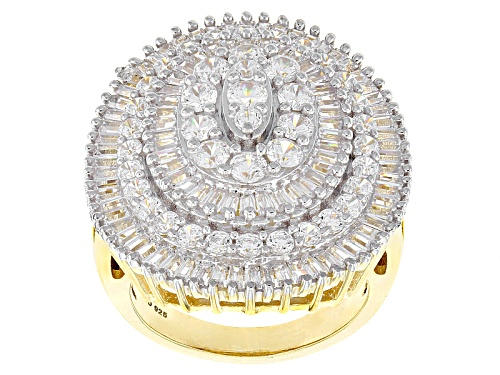 Photo of Pre-Owned Bella Luce ® 7.33ctw White Diamond Simulant Eterno ™ Yellow Ring (3.85ctw Dew) - Size 5