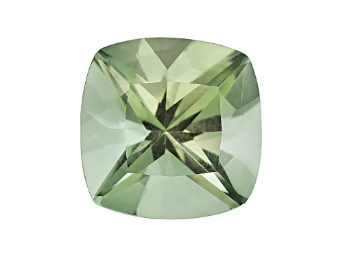 Photo of Prasiolite min 4.25ct 11x11mm square cushion