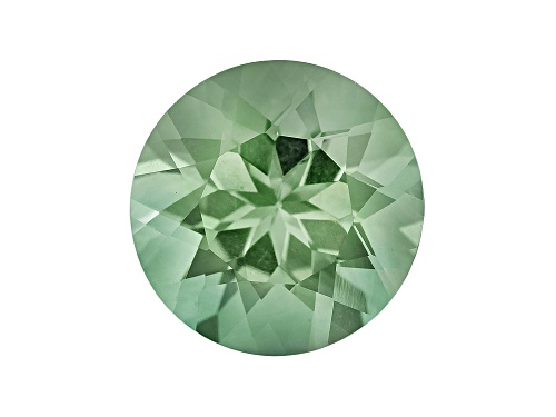 Prasiolite min 5.25ct 12mm Round