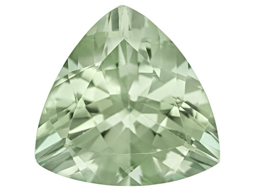 Photo of Prasiolite avg 7.50ct 14x14mm trillion