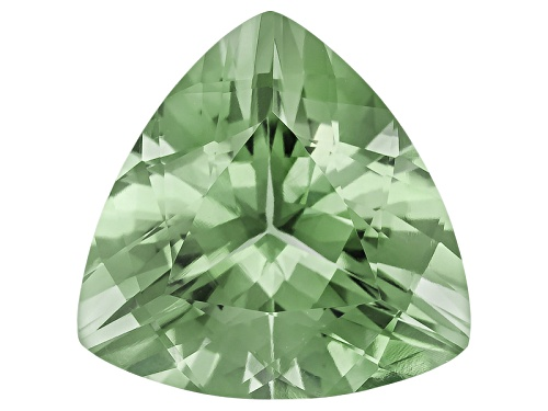 Photo of Prasiolite 9.75ct 15x15mm trillion