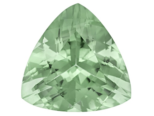 Photo of Prasiolite 11.85ct 16x16mm Trillion