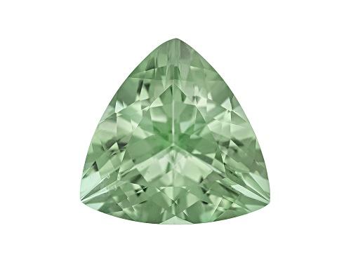 Photo of Prasiolite min 4.00ct 12x12mm trillion