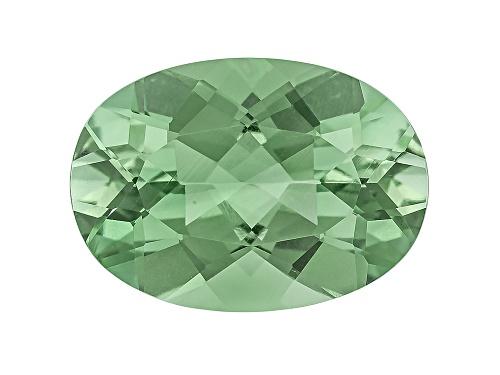 Photo of Prasiolite min 4.50ct 14x10mm oval
