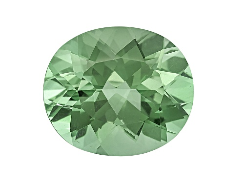Prasiolite Min 7.00ct 14x12mm Oval