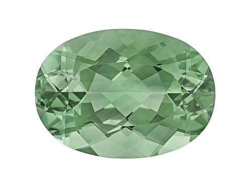 Photo of Prasiolite min 11.00ct 18x13mm oval