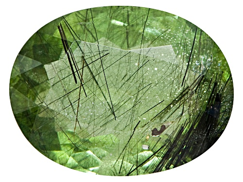Photo of Pakistani Ludwigite In Peridot Avg 12.00ct Mm Varies Oval