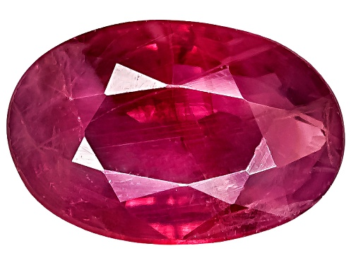 Burmese Ruby Min .40ct 6x4mm Oval