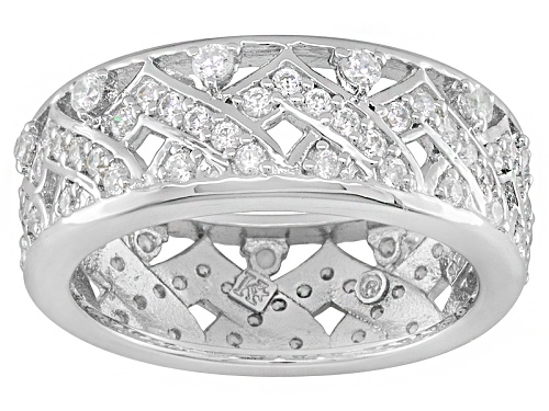 Photo of Bella Luce® 1.74ctw Rhodium Oversterling Silver Ceylon Band Ring - Size 7