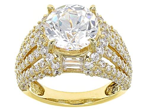 Photo of Bella Luce® 9.92ctw White Diamond Simulant Eterno™ Yellow Ring (6.17ctw Dew) - Size 5