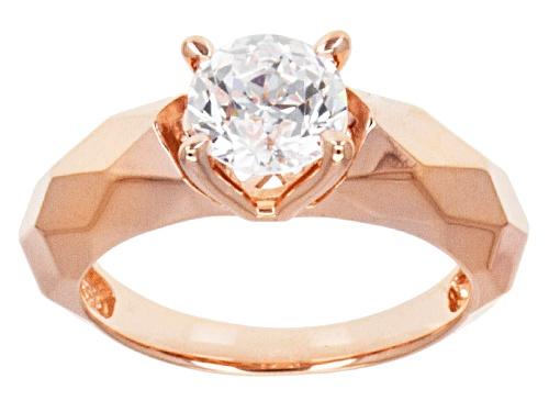 Photo of Bella Luce ® 2.17ct White Diamond Simulant Eterno ™ Rose Ring (1.28ctw Dew) - Size 8
