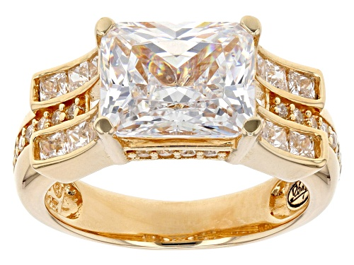 Photo of Bella Luce® 7.61 Ctw Eterno™ Yellow Ring (4.47ctw Dew) - Size 7