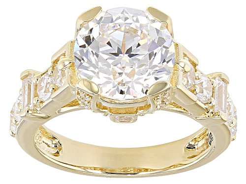 Photo of Bella Luce ® 8.81ctw White Diamond Simulant Eterno™ Yellow Ring - Size 11