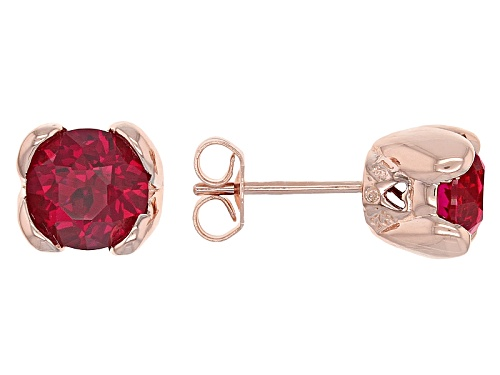 Photo of Bella Luce® 3.28ctw Lab Created Ruby Eterno ™ Rose Earrings
