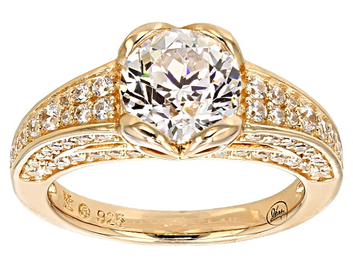"""Photo of Bella Luce® 4.62ctw Diamond Simulant Eterno ™ Yellow """"From The Heart"""" Ring - Size 11"""
