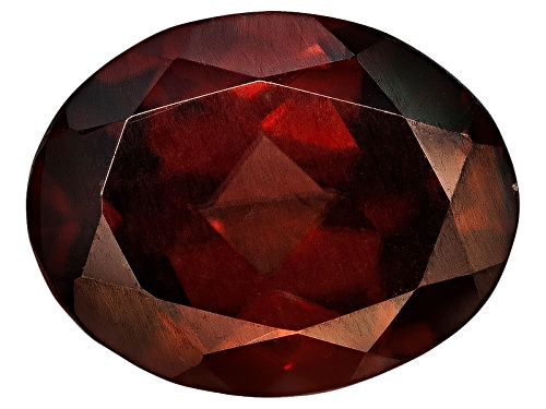 Photo of Tanzanian red zircon min 3.75ct 10x8mm oval