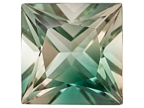 Photo of Green Oregon Sunstone From Butte Mine 1.90ct Minimum 8mm Square Princess Cut Color Varies