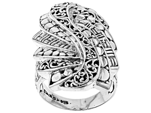 Photo of Artisan Collection Of Bali™ Sterling Silver Trilogy Step Ring - Size 6