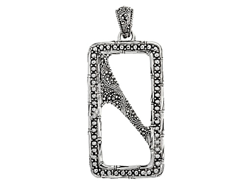 Photo of Artisan Collection Of Bali™ Sterling Silver Filigree Bamboo Pendant