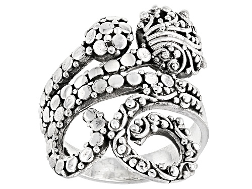 Photo of Artisan Collection Of Bali™ Sterling Silver Filigree Swirl Ring - Size 6