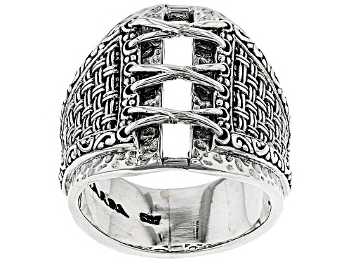 Photo of Artisan Collection Of Bali ™ Sterling Silver Laced Basket Weave Ring - Size 6