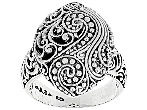 Photo of Artisan Collection Of Bali ™ Sterling Silver Marquise Filigree Ring - Size 12