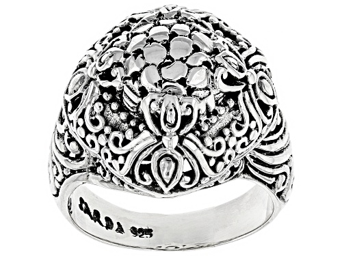 Photo of Artisan Collection Of Bali ™ Sterling Silver Scalloped Watermark Ring - Size 7