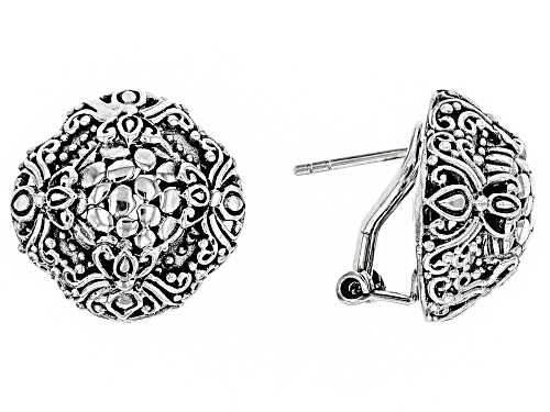 Photo of Artisan Collection Of Bali ™ Sterling Silver Scalloped Watermark Stud Earrings