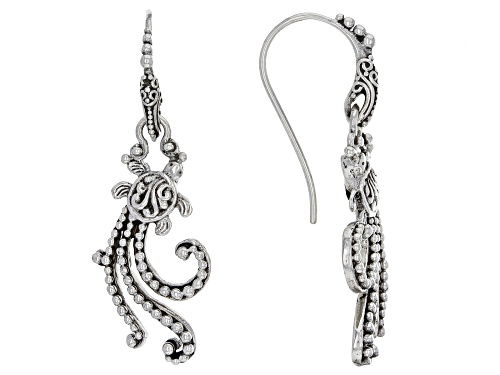 Photo of Artisan Collection Of Bali™ Sterling Silver Turtle Tidal Wave Earrings