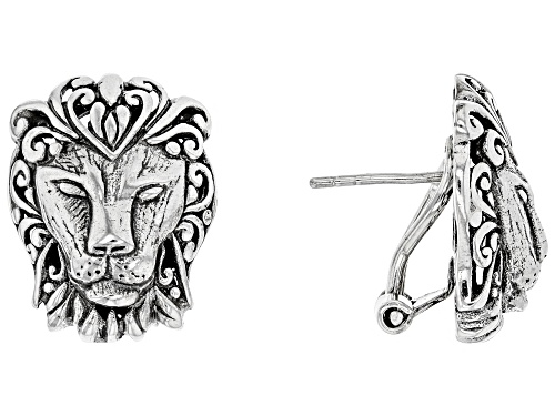 Photo of Artisan Collection Of Bali™ Sterling Silver Lion Head Earrings