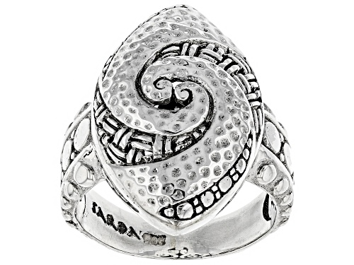 "Photo of Artisan Collection Of Bali™ Sterling Silver ""Be Strong"" Ring - Size 6"