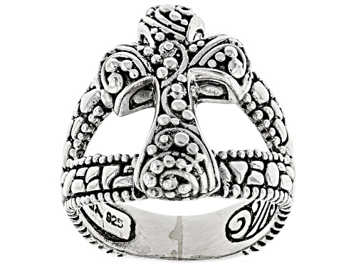Photo of Artisan Collection Of Bali™ Sterling Silver Cross Ring - Size 6