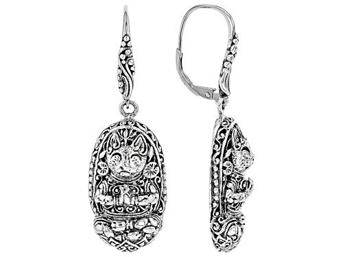 Photo of Artisan Collection Of Bali™ Sterling Silver Cat Dangle Earrings