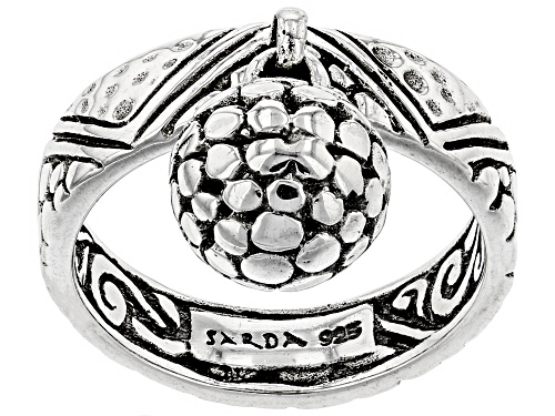 """Photo of Artisan Collection Of Bali™ Sterling Silver """"Love One Another"""" Charm Ring - Size 7"""