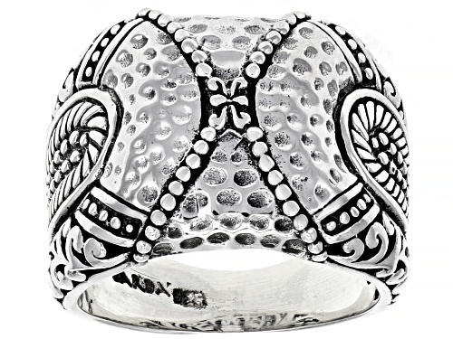 "Artisan Collection Of Bali™ Sterling Silver ""Collide"" Ring - Size 6"