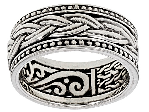 Artisan Collection Of Bali™ Sterling Silver Spinner Band Ring - Size 7