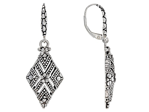 Photo of Artisan Collection Of Bali™ Sterling Silver Floral Dangle Earrings