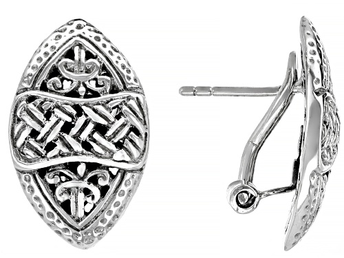 """Photo of Artisan Collection Of Bali™ Sterling  Silver """"Special Possession"""" Stud Earrings"""