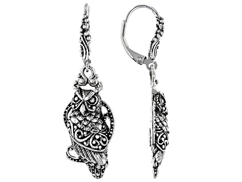 "Photo of Artisan Collection Of Bali™ Sterling Silver ""Unseen Is Eternal"" Owl Earrings"