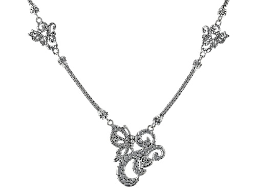 Photo of Artisan Collection Of Bali™ Sterling Silver Butterfly Necklace - Size 18