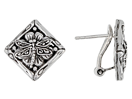 "Photo of Artisan Collection Of Bali™ Sterling Silver ""Chosen By Grace"" Dragonfly Stud Earrings"