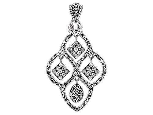 """Photo of Artisan Collection Of Bali™ Sterling Silver """"Patchwords"""" Pendant"""